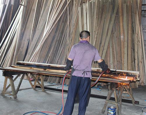 碳化木加工