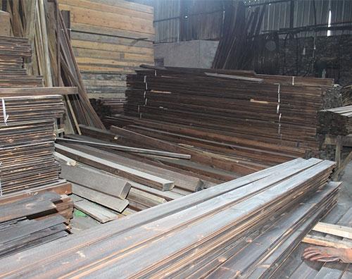 碳化木木材