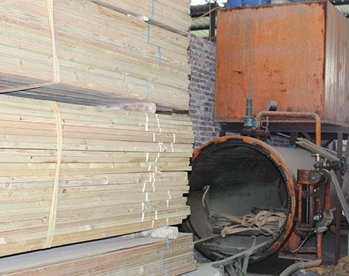 防腐木木材加工
