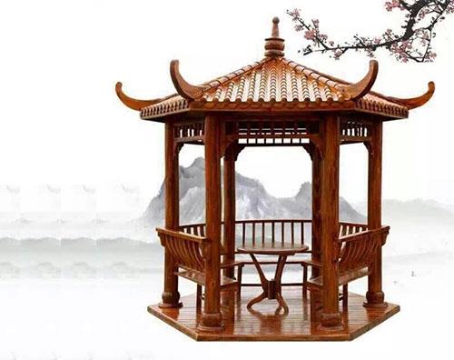 湖北防腐木凉亭